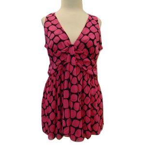 Michael Michael Kors new sleeveless drape top M